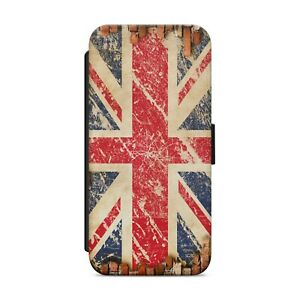 Union Jack Flag WALLET FLIP PHONE CASE COVER FOR iPhone Samsung Huawei       188
