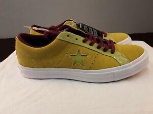 Converse Lemon Suede One Star Pro W/ Lunarlon US 8 First String All Star 70s