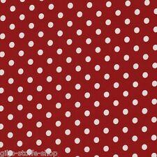 Punkte 8mm Stoffe Meterware Baumwollstoff Tupfen Dots Patchwork Gepunktet 9,70€m