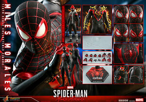 Hot Toys VGM46 907275 Marvel Spider-Man Miles Morales 1/6 figure READY TO SHIP!!
