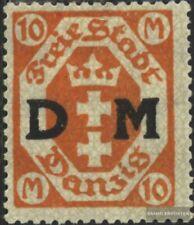 Danzig D27 postfrisch 1922 Dienstmarke