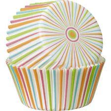 WILTON Multicolor Stripe Cupcake Liners Pack 5CM 75 PIECES