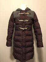 Cartonnier Anthropologie Purple Puffer Coat With Gray Accents, Size 4