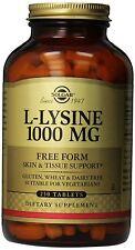 Solgar L-Lysine 1000 mg - 250 Tablets SKIN & TISSUE SUPPORT