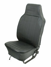 VW BUG 74-76 TYPE 1 SEDAN  SLIP-ON VINYL SEAT COVER KIT FRONT & REAR BLACK  4641