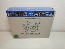 Hayao Miyazaki Collection Studio Ghibli Box BluRay Kollektion NEU OVP