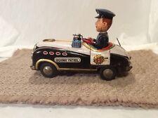 Vintage Tin Litho Modern Toys Highway Patrol Car