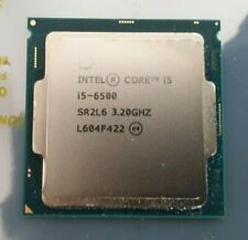 Intel I5 6500 3.2Ghz Turbos to 3.6Ghz 4 Core 4 Thread LGA1151 CPU No Reserve
