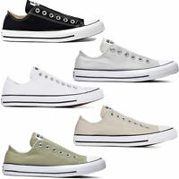 Converse Mandrin Taylor All Star Slip Baskets pour Hommes Mocassins Stoff-Schuhe