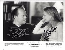 **THE STORY OF US CAST SIGNED PHOTO AUTHENTIC AUTOGRAPHS BRUCE WILLIS PFEIFFER**