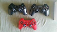 PLAYSTATION 3 , PS3 Dualshock  wireless controller sony.  Used... ( 3 )