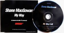 POGUES CD SHANE MacGOWAN My Way 1 Track PROMO ONLY Black Swoosh Sleeve UNPLAYED