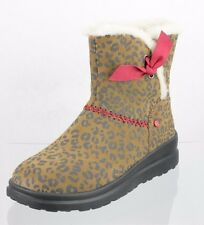 Women's UGG 1006213 Animal Print Boots Brown Black Size 6 M NEW