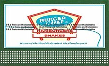 Billboard for Lionel Holder Burger Chef Home of the greatest Hamburgers