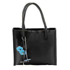 Elegant Handbags Women Leather Shoulder Bag Candy Color Flowers Tote Bag UK