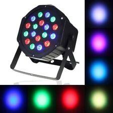 18 LED Laser Par Light, Flat Stage Light, Auto Sound Control DMX Master slave