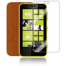 Skinomi Light Wood Phone Skin+Screen Protector Guard Cover for Nokia Lumia 620