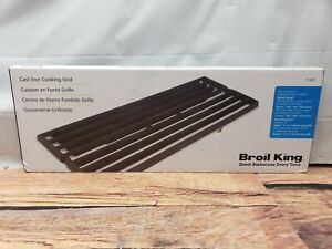"""(2) Cast Iron Cooking Grates Grid 17 3/8"""" for Broil King Baron Huntington BBQ"""