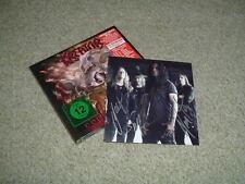 KREATOR - GODS OF VIOLENCE - CD/DVD + SIGNED PHOTO CARD - NEW /SEALED