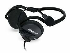 Microsoft LifeChat Headphones 3.5mm Headset & Microphone Mic for PC Computer