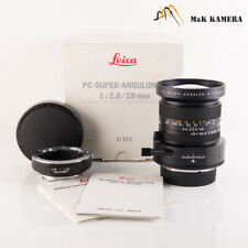 Leica PC-Super-Angulon-R 28mm/F2.8 Lens Yr.1996 Germany #528