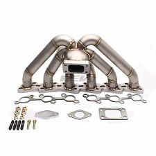 HP-SERIES FOR RB20 RB25 RB25DETT EQUAL LENGTH T3 FLANGE TOP MOUNT TURBO MANIFOLD