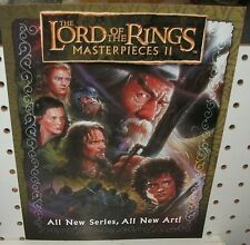 LORD OF THE RINGS MASTERPIECES  2 - SELL SHEET  11X17