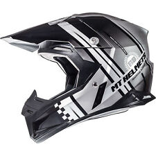 New MT SYNCHRONY ENDURANCE HELMET SZ SM DOT APPROVED SILVER CR RM YZ KX CRF KTM
