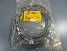 1 Nib Turck RKV-4.4T-6RKV44T6 Euro Fast Connector Cable 12mm 4 Amp 250V