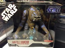 Star Wars Battle Rancor with Felucian Rider and Saddle - 2007 Target Exclusive