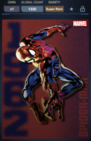 Topps Marvel Collect! Spider-Man Classic Collection Debut SUPER RARE | DIGITAL