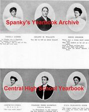1906 St. Louis Central High School Yearbook~Photos~History~Basketball~Local Ads+