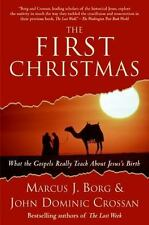 THE FIRST CHRISTMAS Marcus Borg, John Crossan FREE SHIPPING paperback book Jesus