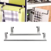 Over Kitchen Cabinet Door Tea Hand Towel Rail Holder Hanger Storage 23cm/36cm