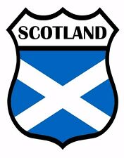 2 x Scotland Flag Decal Car Motorbike Laptop Window Sticker Static Cling