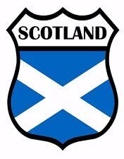 2 x Scotland Flag Decal Car Motorbike Laptop Window Sticker Static Cling
