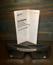 SONY TDG-BR100 3D Glasses - USED Perfect condition with Manual replaced battery