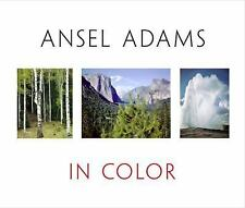 Ansel Adams in Color by Adams Hardcover with Dust jacket Very Good Condition