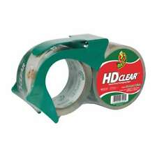 Duck Brand Hd Clear Packaging Tape 188 In X 43 Yds Clear 2 Pack With Disp