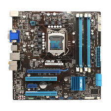 FOR ASUS P7H55-M BM5275 Motherboard LGA1156 DDR3 MicroATX I/O Shield