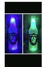 Las Vegas Raiders Led Bottle Light Pub Bar Neon Sign Nfl