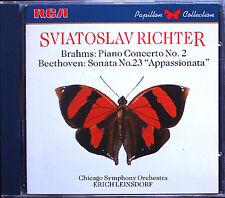 Sviatoslav RICHTER: BRAHMS Piano Concerto No.2 BEETHOVEN Appassionata Sonata CD