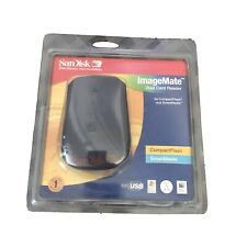 SanDisk ImageMate Dual Card Reader SDDR-75-07 USB Compact Flash Smart Media