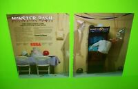 Monster Bash Arcade Arcade Game Ad From Trade Magazine Halloween Horror Monsters