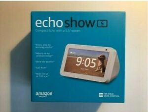 Amazon Echo Show 5 Smart Speaker with Alexa Voice Control White