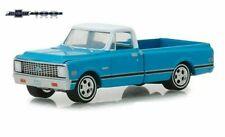 """Chevrolet C-10 /""""Black Bandit/"""" Baujahr 1972 schwarz Maßstab 1:64 von greenlight"""