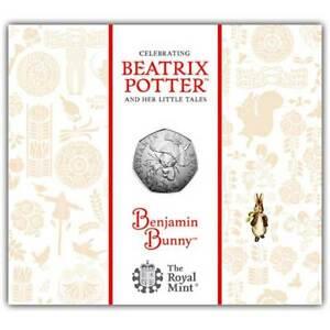 Benjamin Bunny 2017 UK 50p BU Coin