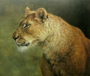 Jorge Mayol  Lioness  Signed & Numbered Limited Edition