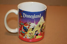 George Disneyland Coffee Mug Mickey Minnie Mouse Snow White Dalmations B12