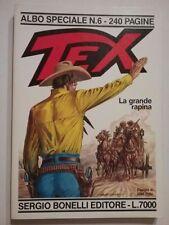 Texone n.6 La Grande Rapina Bonelli  1993